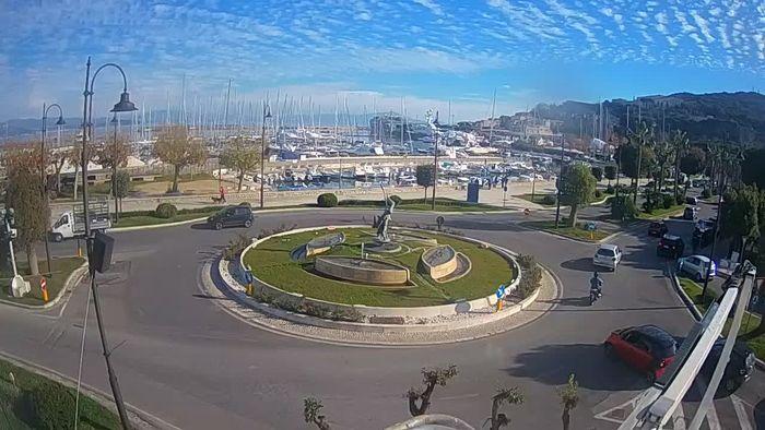 HD Live Webcam Gaeta - Fountain of San Francesco