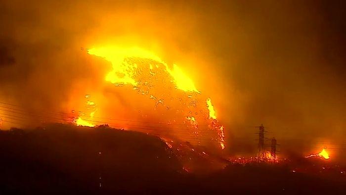 Schlimmes Waldbrandjahr in Kalifornien