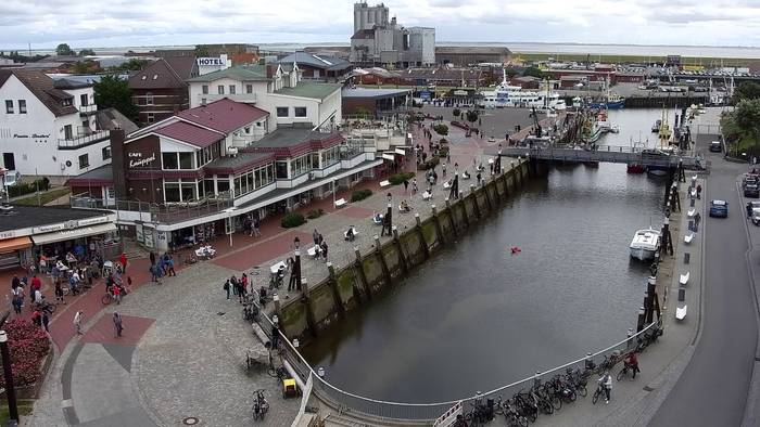 HD Live Webcam Büsum, Museumshafen