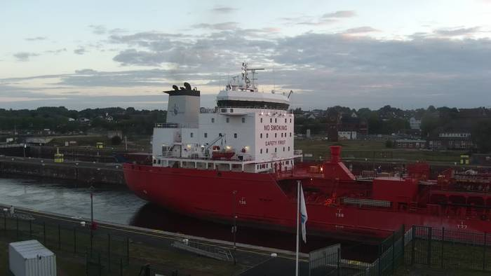 HD Live Webcam Kiel, Schleuse