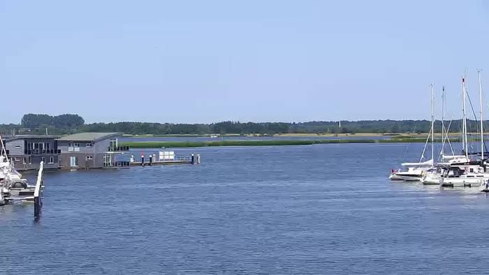 HD Live Webcam Marina Kröslin, Rügen