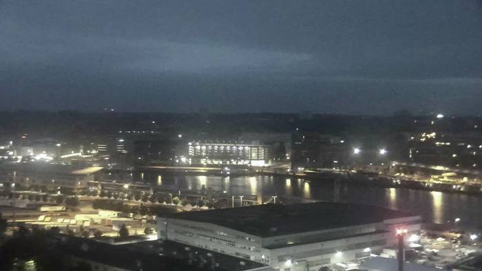 HD Live Webcam Kiel - Kieler Förde - Ostufer Innenförde