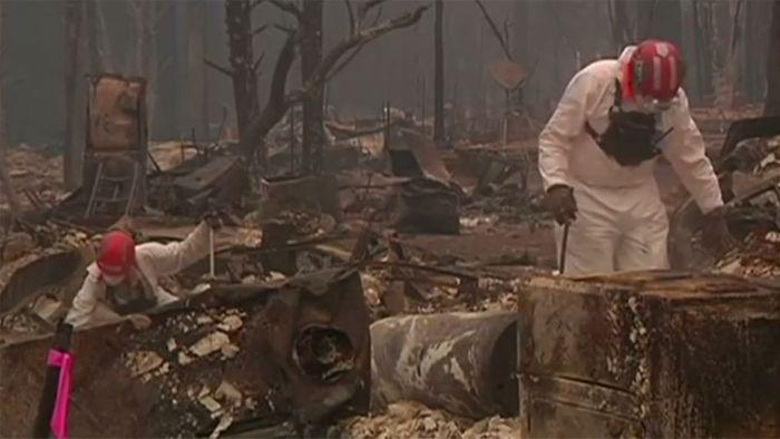 Brände in Kalifornien: Noch mehr als 220 Vermisste