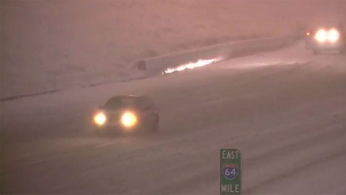 US-Ostküste erlebt ersten Schneesturm der Saison