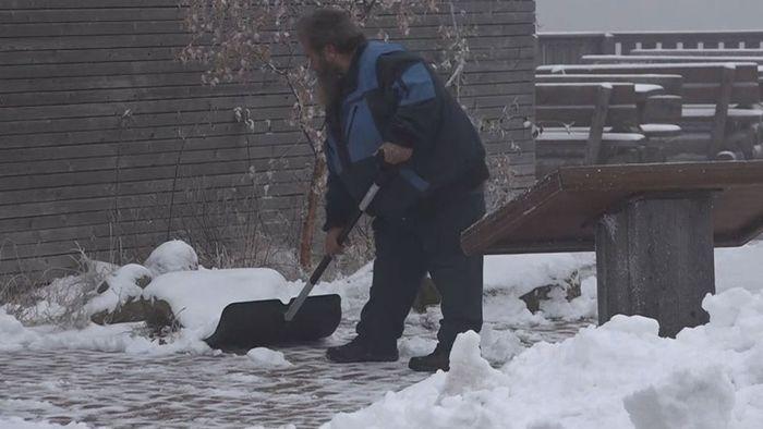Schnee in Deutschland! Winter hält Einzug