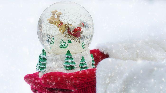 Laut Statistik sind weiße Weihnachten nicht besonders wahrscheinlich.