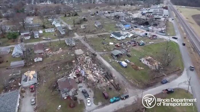 Tornados machen Kleinholz