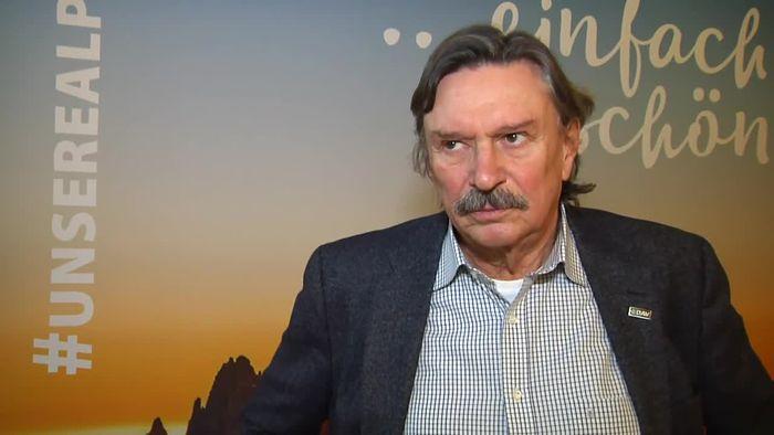 """Hintergründe und Bedeutung der """"Unsere Alpen""""-Kampagne – Rudi Erlacher, DAV-Vizepräsident"""