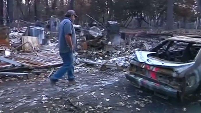 Nach Feuerkatastrophe: Rückkehr nach Paradise
