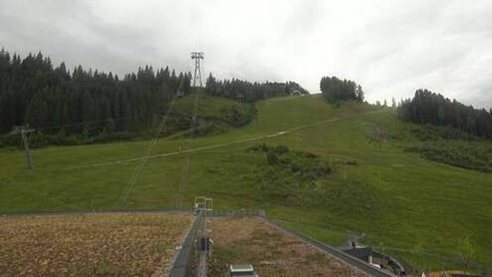 HD Live Webcam Kaprun - Bergstation Maiskogelbahn