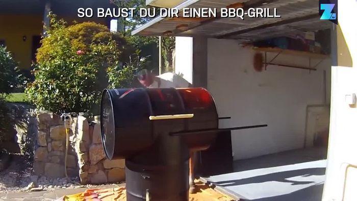 So baust Du Dir einen BBQ-Grill