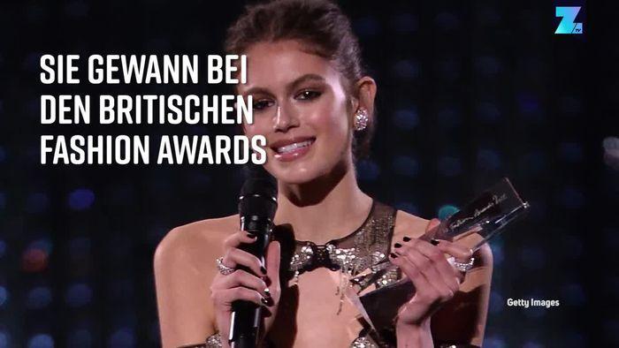 Kaia Gerber wird 'Model des Jahres'