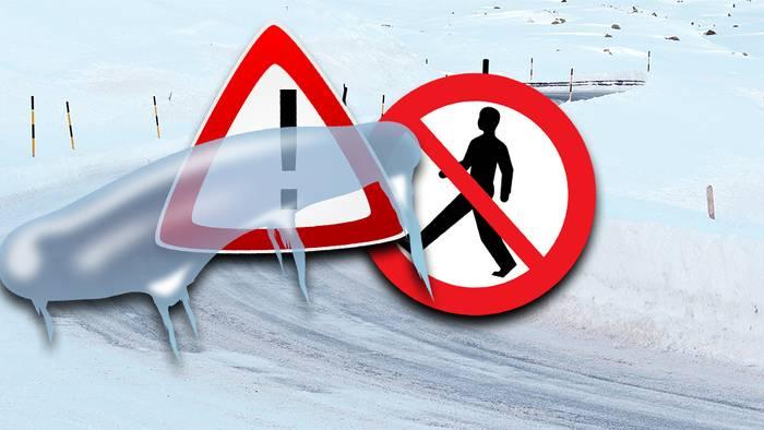 Bei Glätte passieren viele Unfälle, doch man kann sie vermeiden.