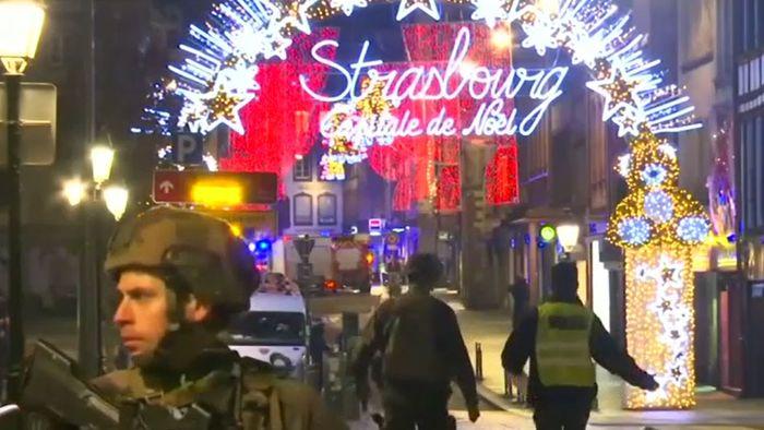 Schüsse am Straßburger Weihnachtsmarkt: Tote und Verletzte