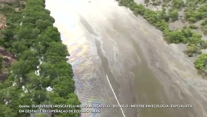 Diebe für Ölpest bei Rio de Janeiro verantwortlich
