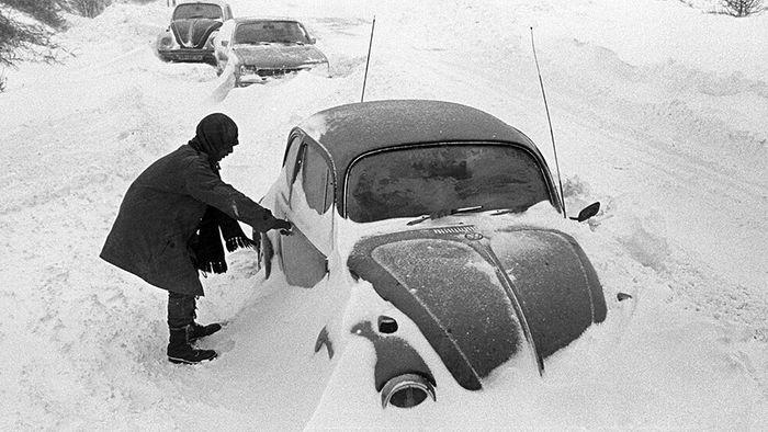 Schneekatastrophe 1978/79: Winter lähmt Norddeutschland