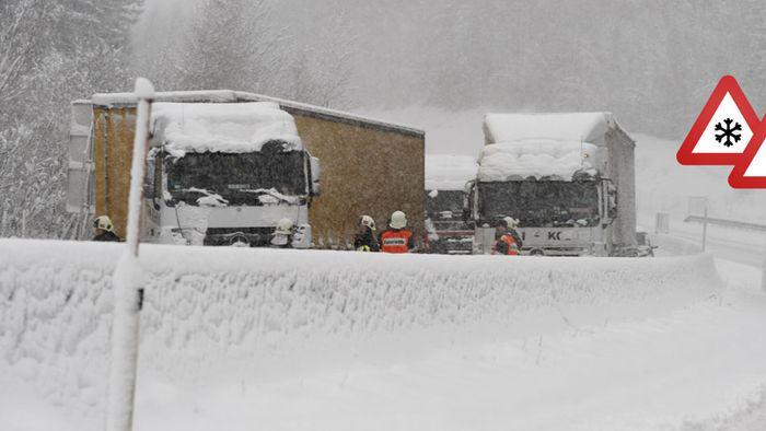 Chaostag am Samstag! Diese Regionen versinken im Schnee
