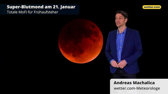 Super-Blutmond: Totale Mondfinsternis in ganz Deutschland sichtbar