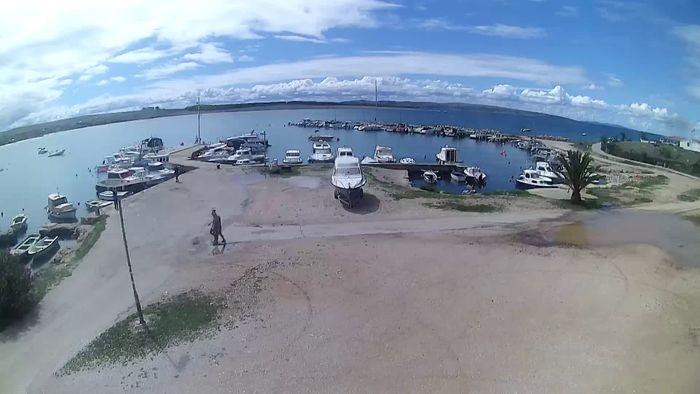 HD Live Webcam Webcam Povljana - Pag island