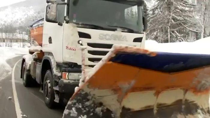 Behinderungen: Schnee hält uns weiter auf Trab
