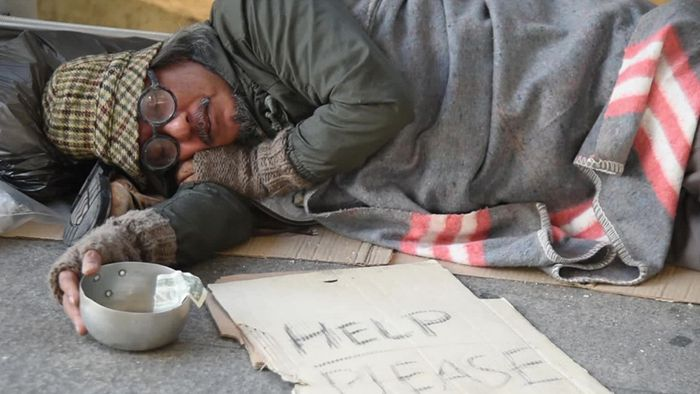 Minustemperaturen können für obdachlose Menschen lebensbedrohlich werden.