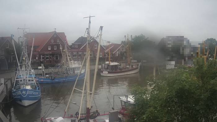 HD Live Webcam Neuharlingersiel, Hafen Ost