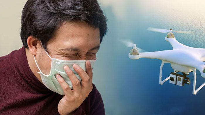 Dicke Luft: Drohnen sollen Smog in Bangkok bekämpfen