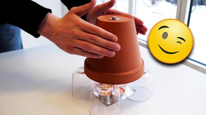 Diese DIY-Heizung dient als kleine Wärmequelle.