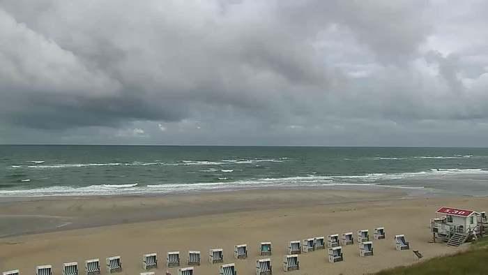 HD Live Webcam Rantum - Sylt - Strandmuschel