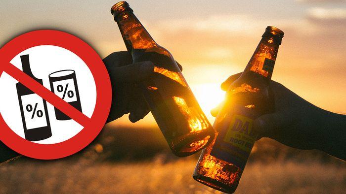 Alkohol hat viele negative Auswirkungen auf Deine Gesundheit.