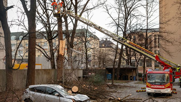 Rosenmontags-Sturm BENNET wütete mit bis zu 144 km/h