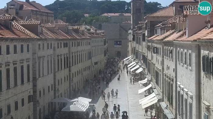 HD Live Webcam Dubrovnik - Stradun