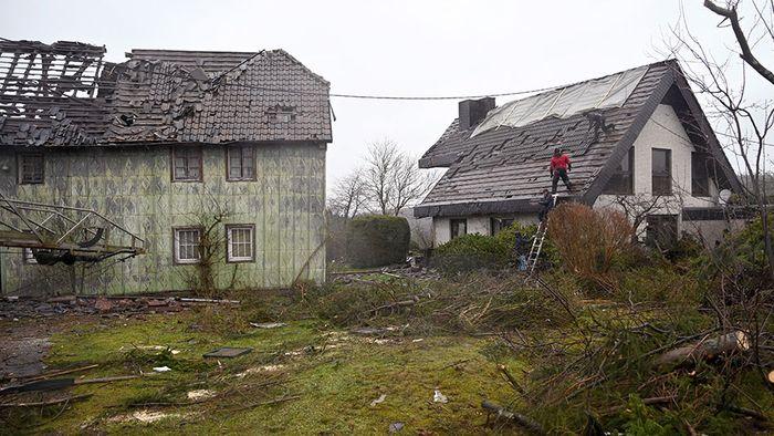 Nach Tornado: Einwohner von Roetgen geschockt