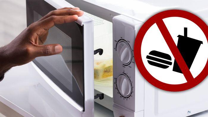 Einige Lebensmittel sollte man nicht in der Mikrowelle erhitzen.