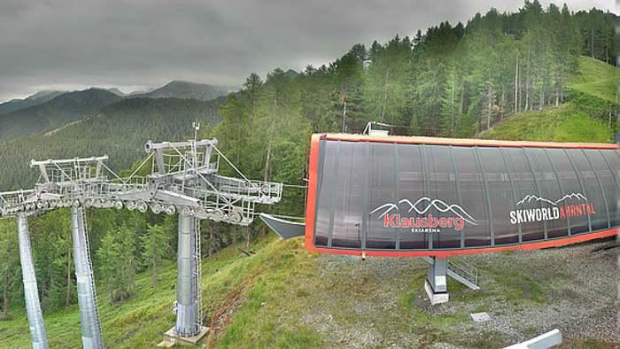 HD Live Webcam Klausberg - Skiarena Klausberg - Bergstation Kabinenbahn