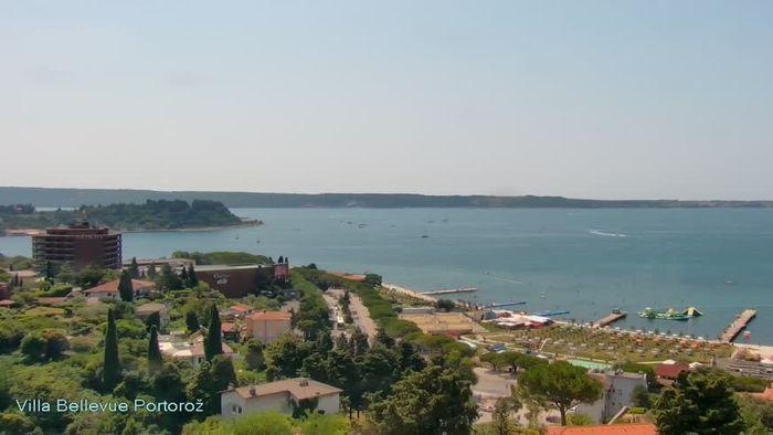 HD Live Webcam Portorož - Villa Bellevue