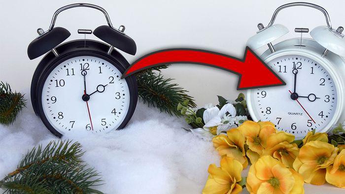 Am 31. März 2019 werden die Uhren um eine Stunde vorgestellt.