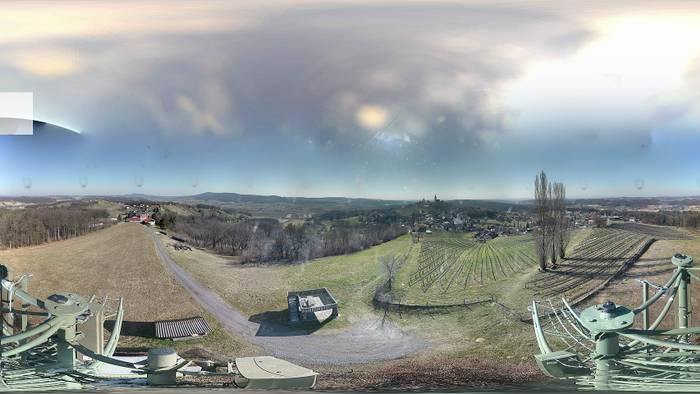 HD Live Webcam Straden - Aussichtsplattform Saziani
