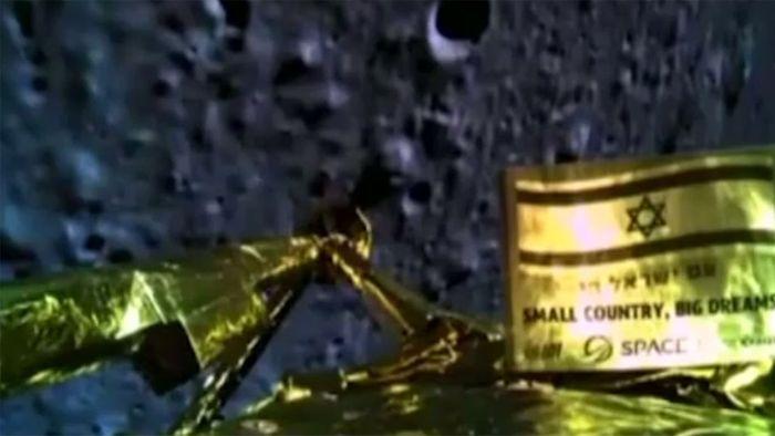 Entsetzen in Israel: Sonde stürzt auf den Mond