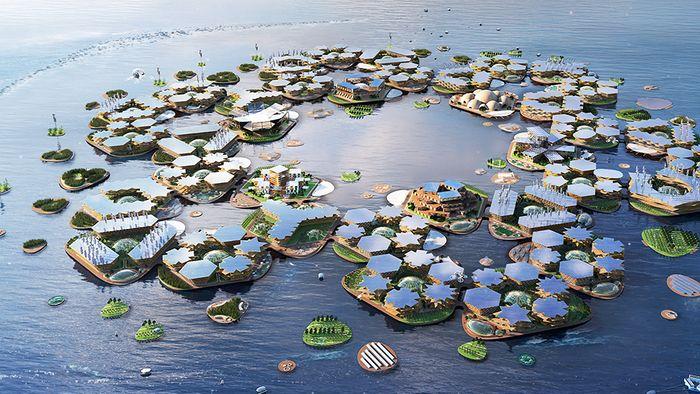 Leben wir bald in schwimmenden Städten?