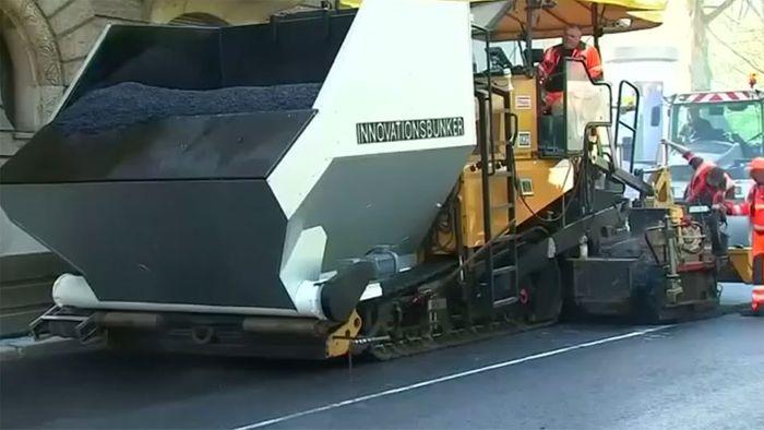 Bahnbrechende Neuerung? Magischer Straßenbelag soll Luftbelastung senken
