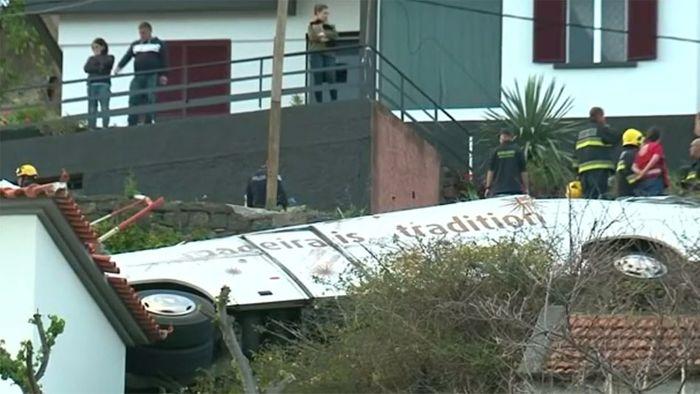 Viele tote Deutsche bei Busunglück auf Madeira
