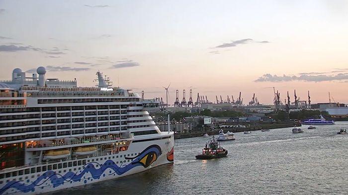 Der Hafengeburtstag in Hamburg konnte man auch gut über unsere Livecams verfolgen.