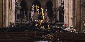 Nach Brandkatastrophe So Sieht Notre Dame Von Innen Aus Videos