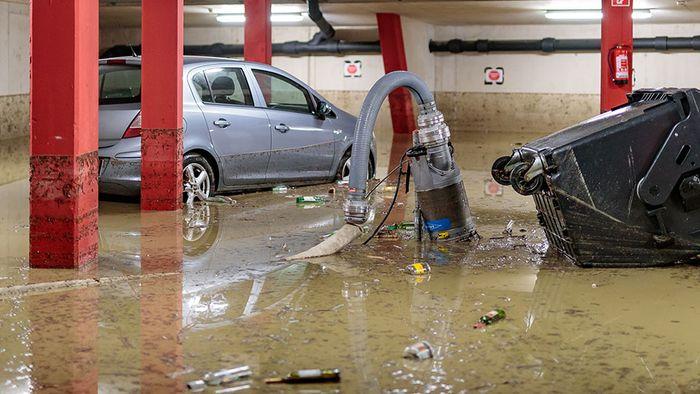 Trotz Regenmassen: Hochwasser glimpflich verlaufen