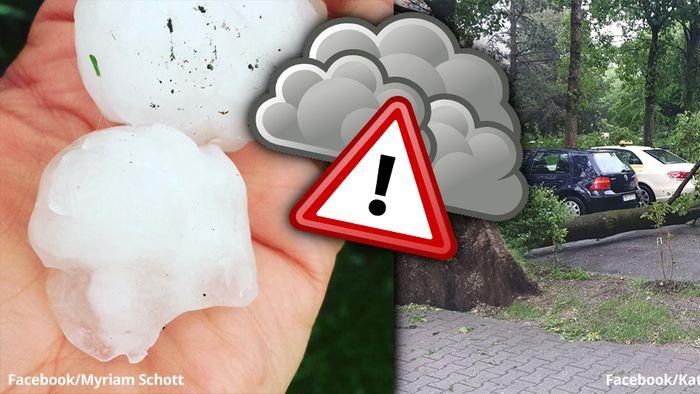 Die Folgen der Unwetter am Pfingstmontag sind schockierend.