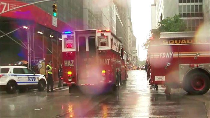Erinnerungen an 9/11: Hubschrauberabsturz in Manhattan