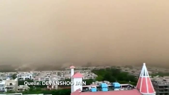 Extremhitze, Sandsturm, Zyklon-Warnung: Indien ächzt unter Juni-Wetter