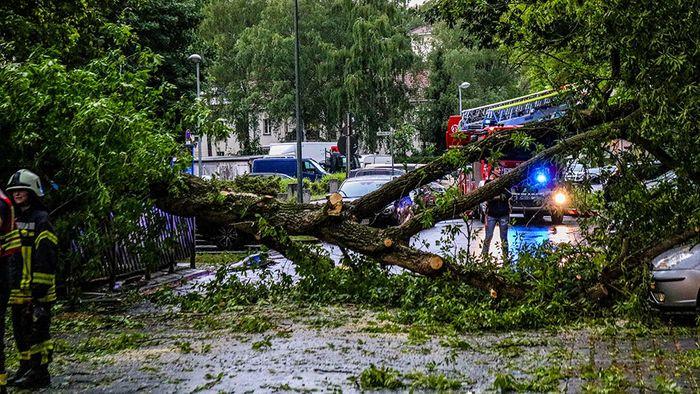 Erneut schwere Unwetter in und um Berlin
