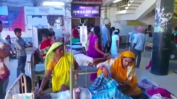 Dutzende Tote nach Hitzewelle in Indien